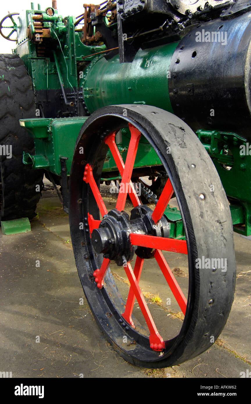 Red Wheel Weiser Online Bookstore: Green Traction Engine Stock Photos & Green Traction Engine