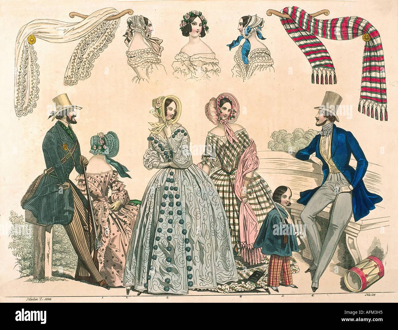 Men S Fashions Th Century