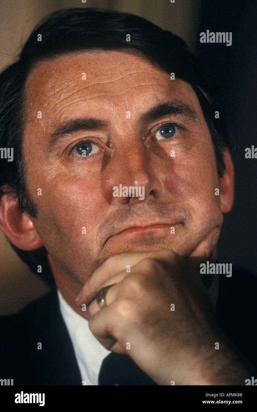 David Steel M.P.  at the Liberal Party Conference Blackpool 1980 - Stock Image