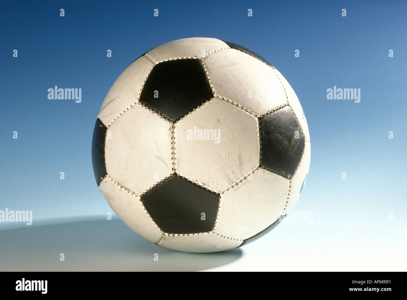 leisure / sports, soccer / football, ball, footy, footie, footer, - Stock Image