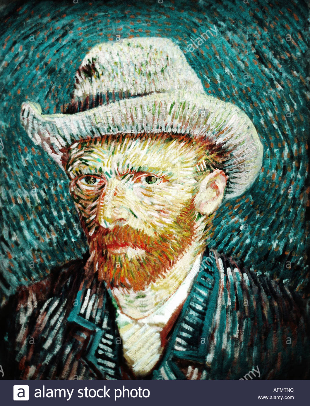 Stylization under the picture of Vincent Van Gogh 63
