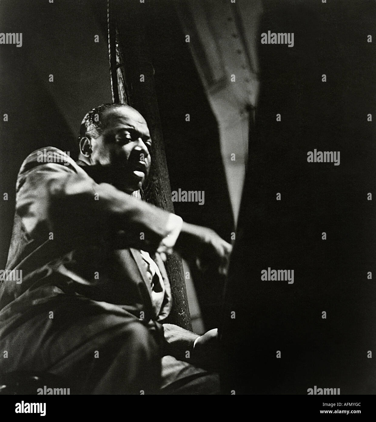 COUNT BASIE US musician and band leader - Stock Image