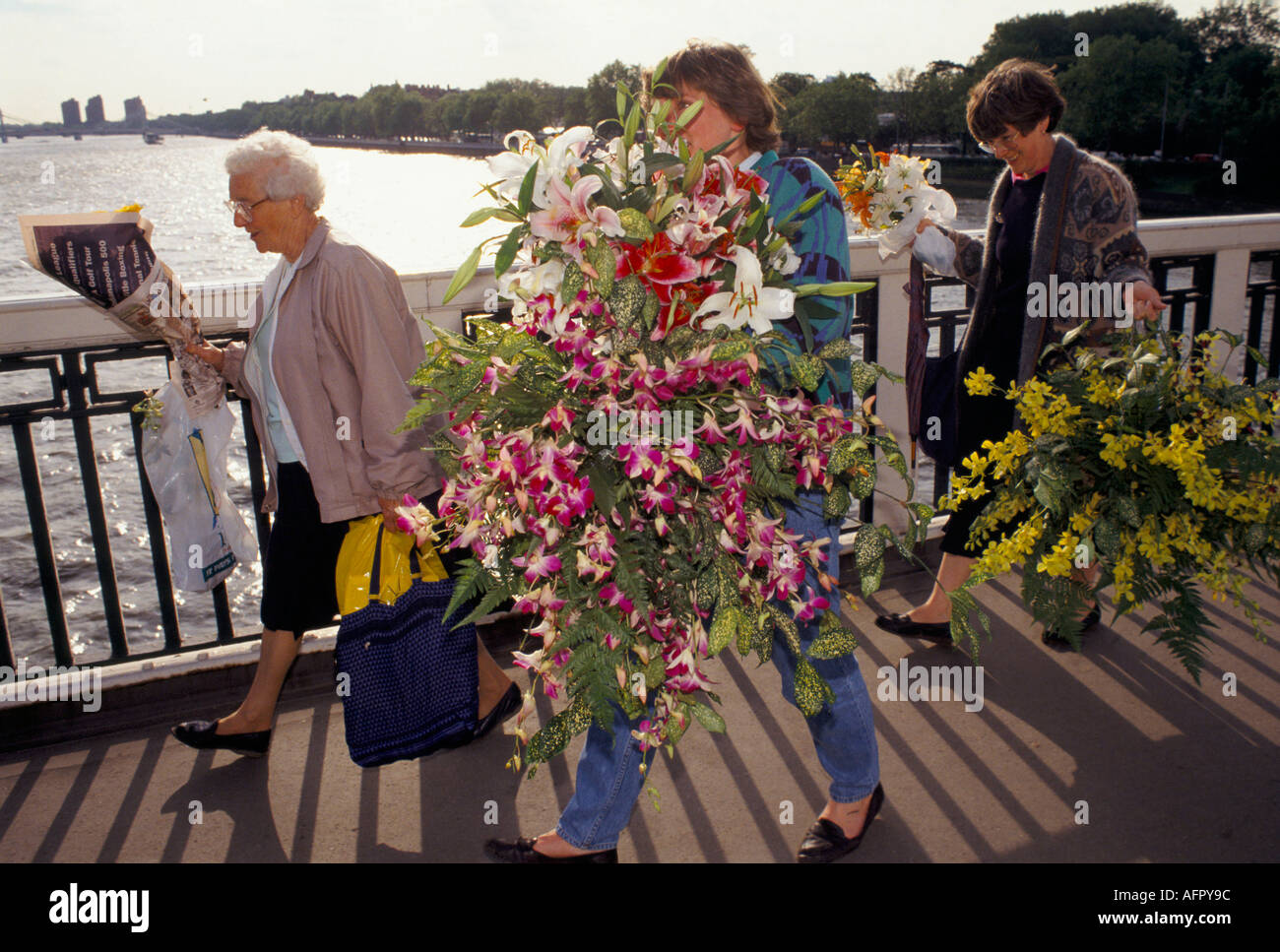 Chelsea Flower show London Annually May Britain PHOTO HOMER SYKES - Stock Image