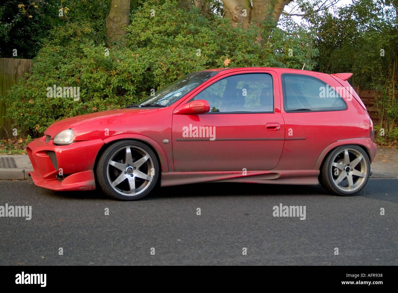 Boy Racer Vauxhall Corsa Max Power Plastic Body Kit Car Modification