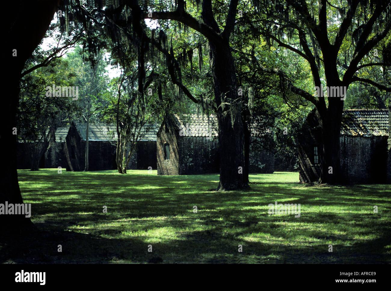 Slave Quarters South Carolina Stock Photos Amp Slave