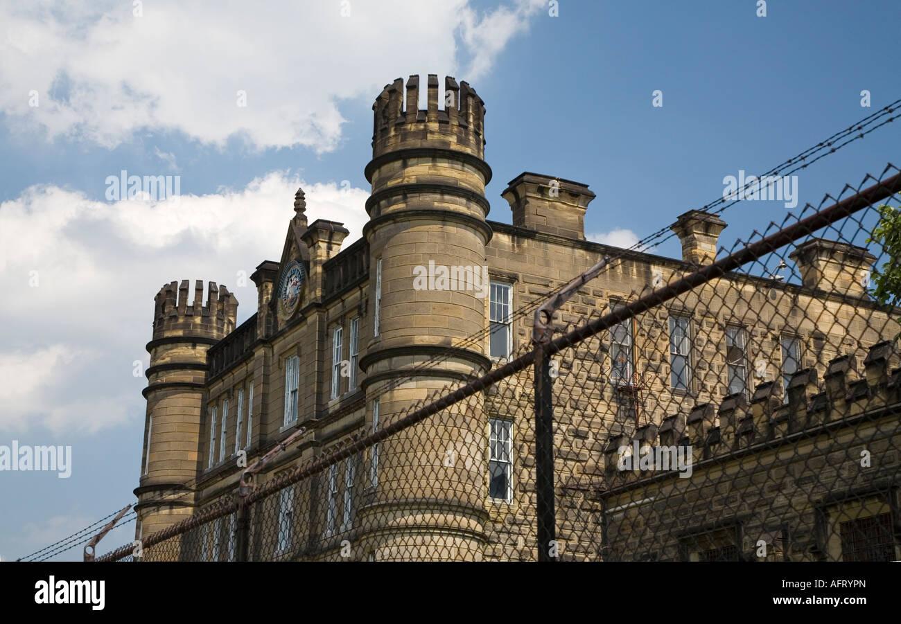 West Virginia Penitentiary - Stock Image