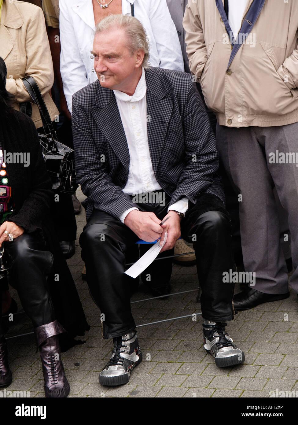 Famous Dutch shoe footwear designer Jan Janssen - Stock Image
