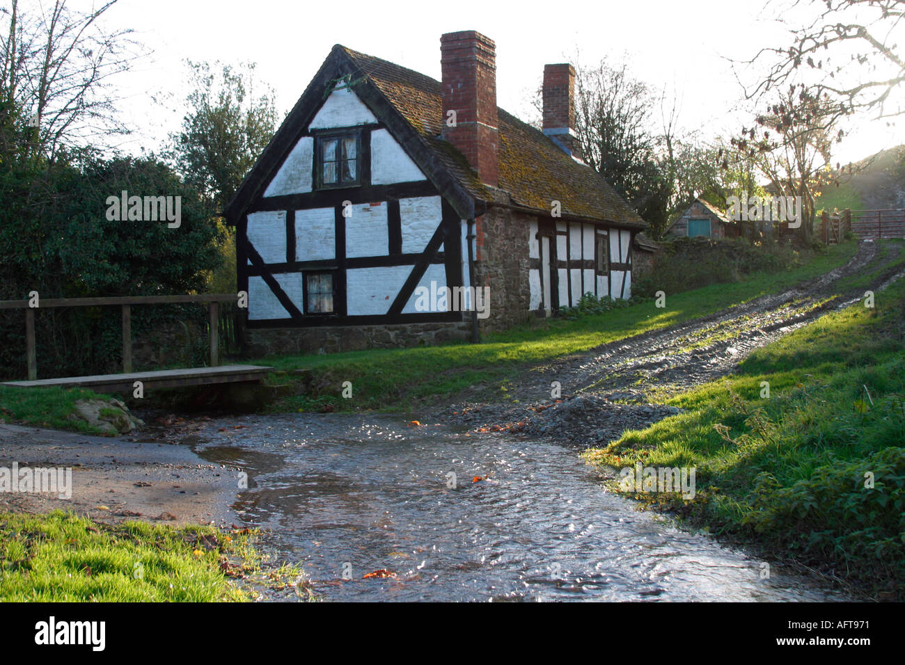 English Country Cottage Half Timbered House By Ford Stream
