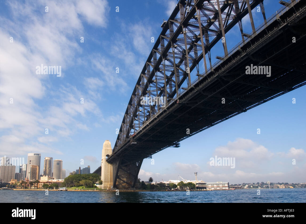 Australia, Sydney, Sydney Harbour Bridge - Stock Image