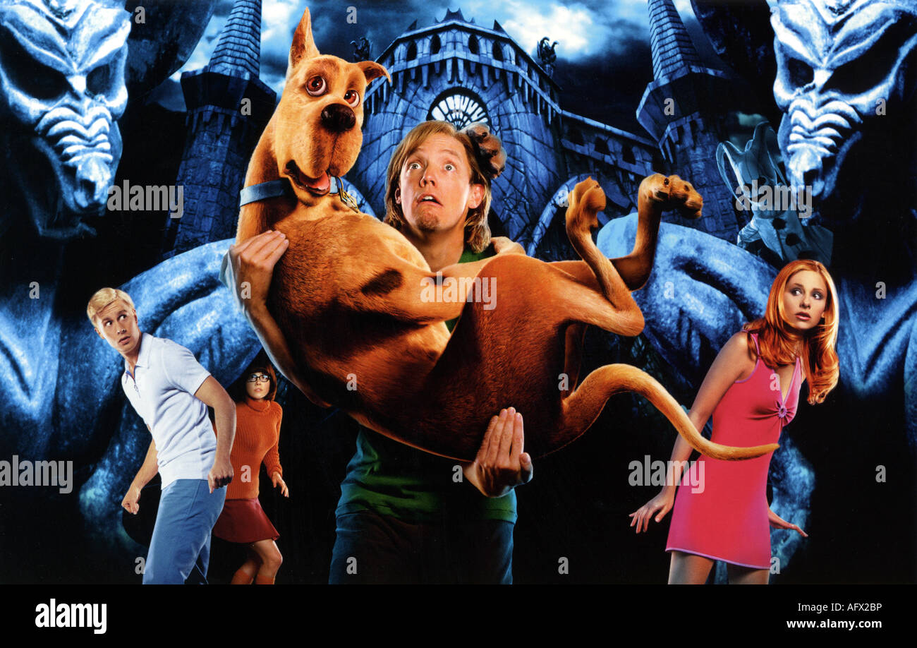 Scooby doo 2002 warner film stock photo 14031273 alamy - Scoobidou film ...