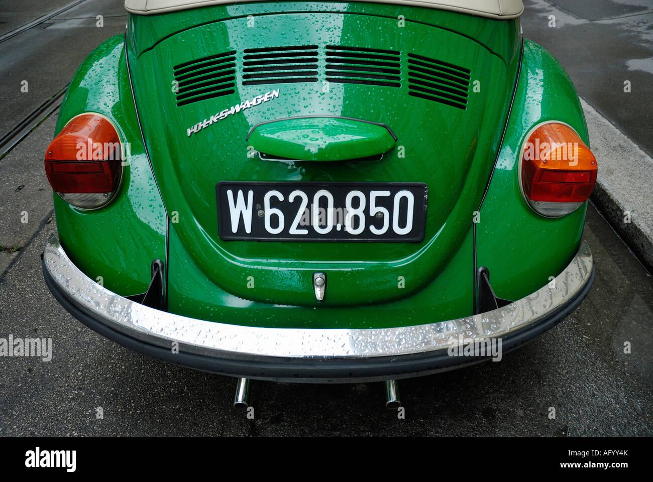 VOLKSWAGEN BEETLE CAR Stock Photo