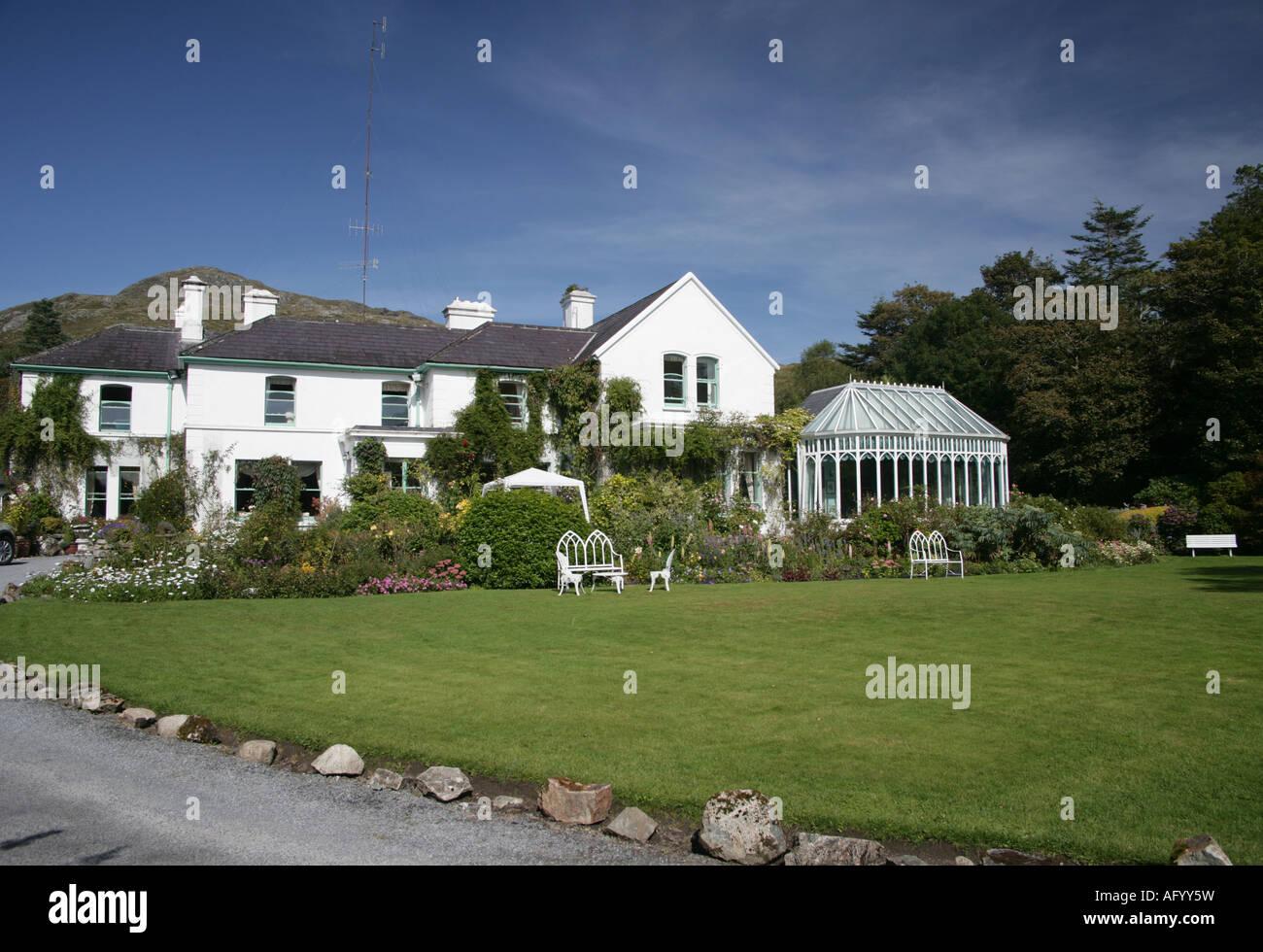 Cashel House Hotel Cashel Connemara Irish country house hotel - Stock Image