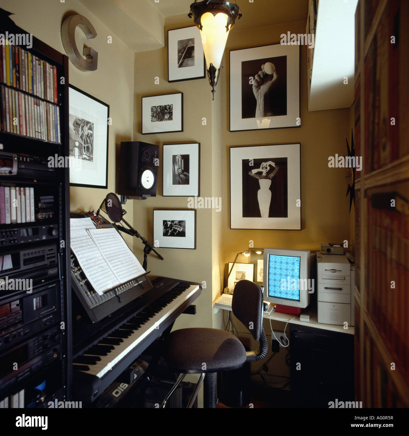 Music Room High Resolution Stock Photography And Images Alamy