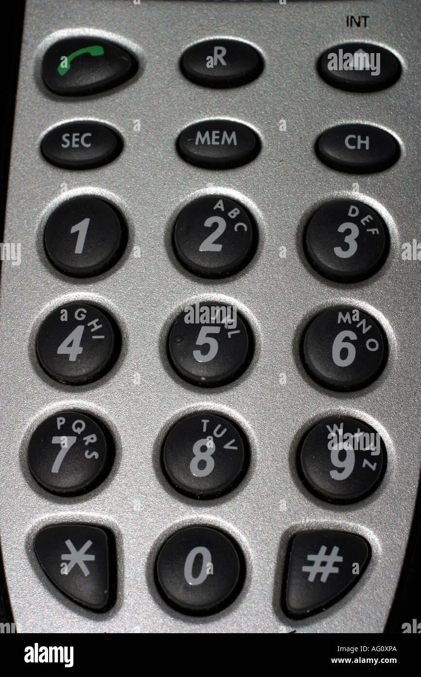 Keypad - Stock Image