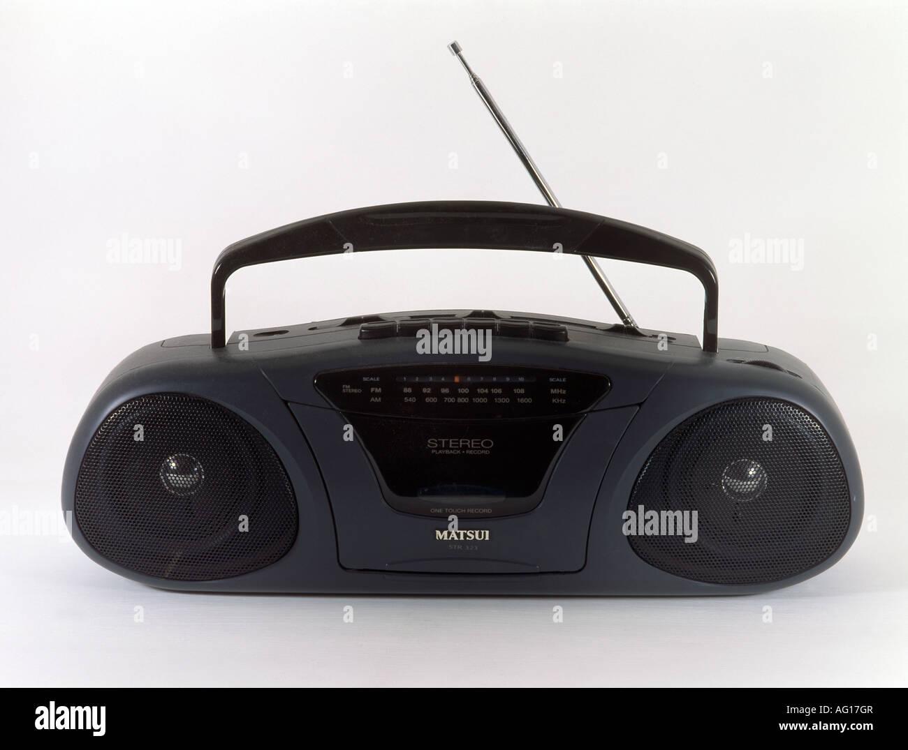 Matsui Radio - Stock Image