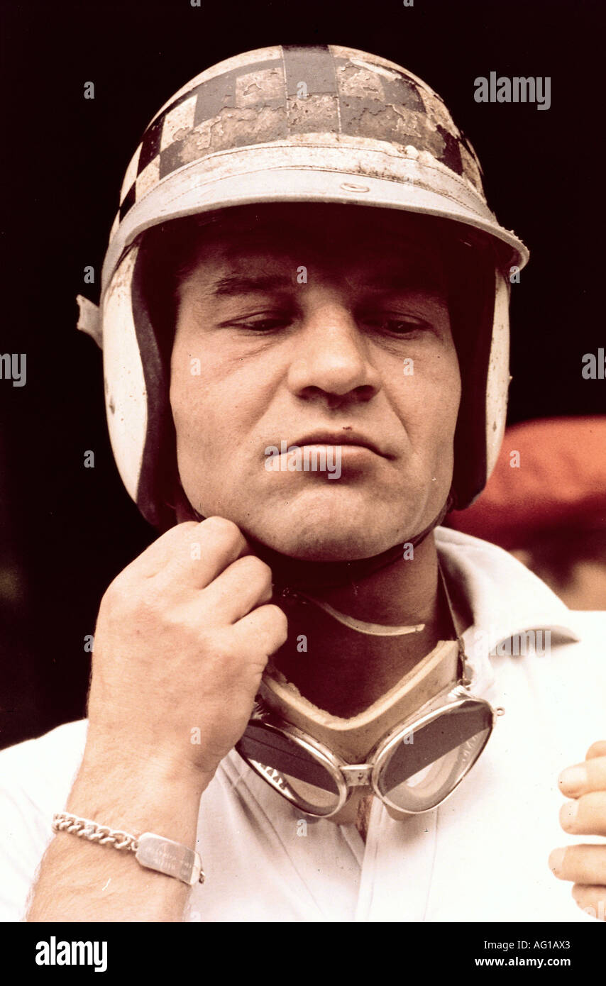 Ireland, Innes, 12.6.1930 - 23.10.1993, British athlete, (automobile racer), portrait, circa 1964, Additional-Rights-Clearances-NA - Stock Image