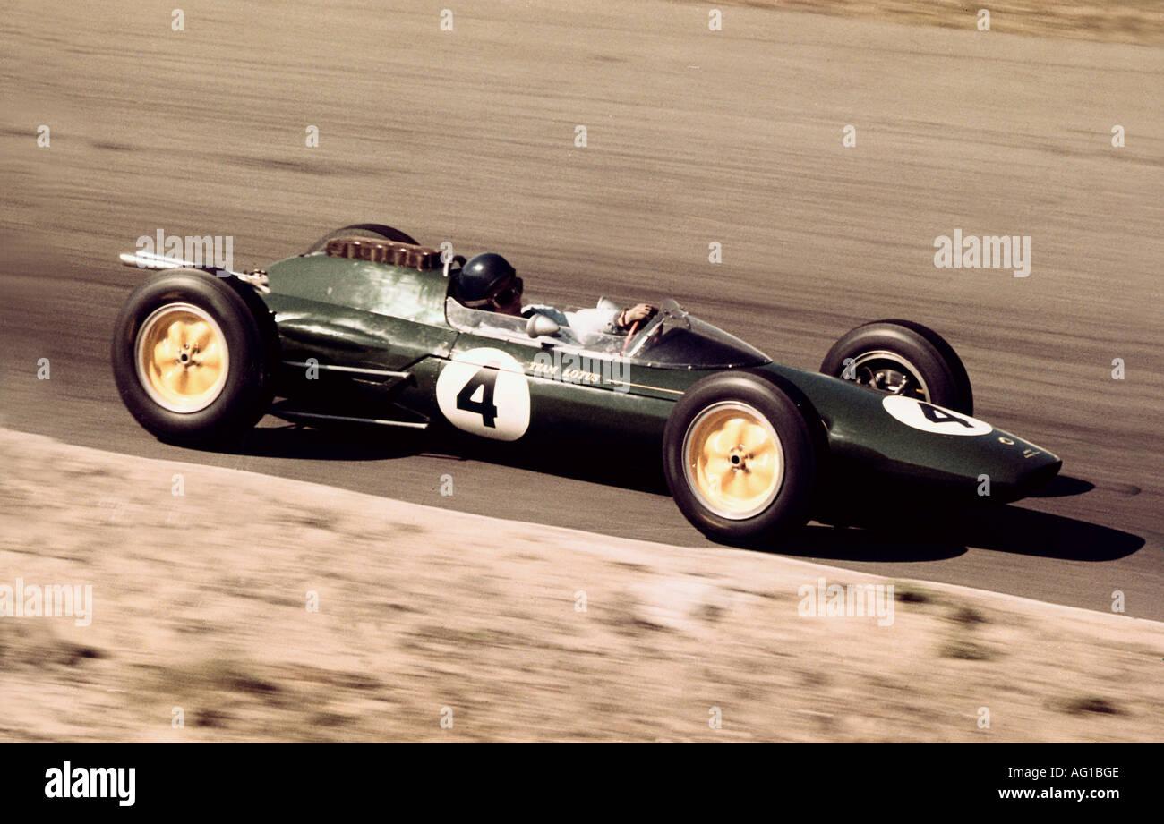 Clark, Jim, 4.3.1936 - 7.4.1967, British athlete, (automobile racer), Formula one race, Zandvoort, Netherlands, 1963, Additional-Rights-Clearances-NA - Stock Image