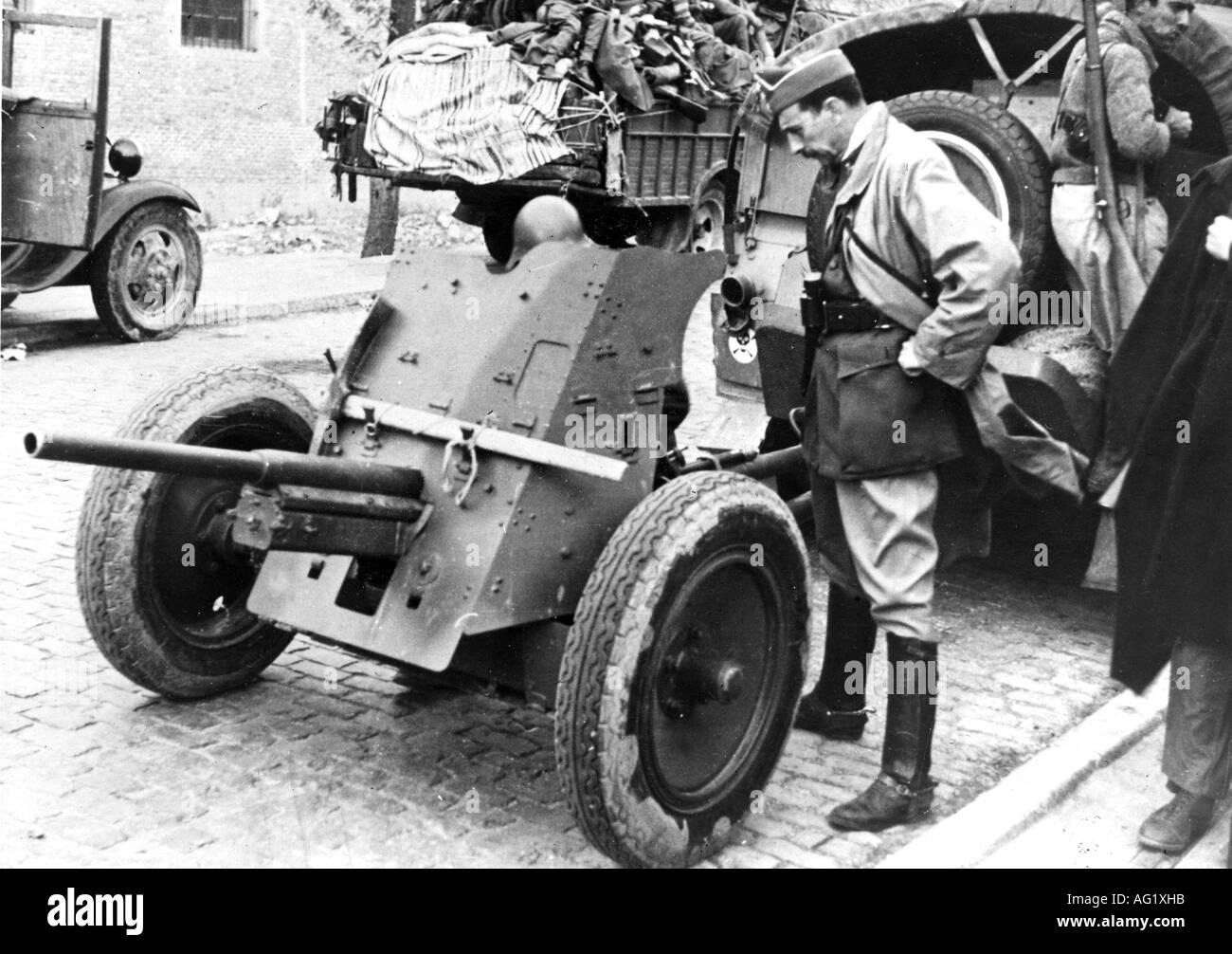 55 best Hispano Aviación HA, España (SPAIN) images on ...  |Anti Aircraft Guns Spanish Civil War