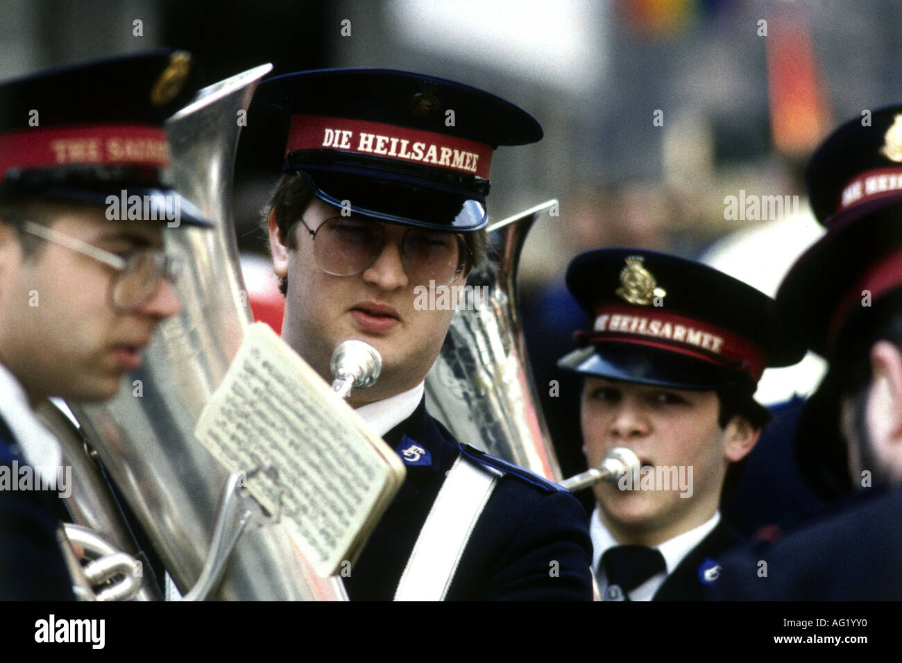Salvation Army Brass Band Stock Photos Salvation Army Brass Band