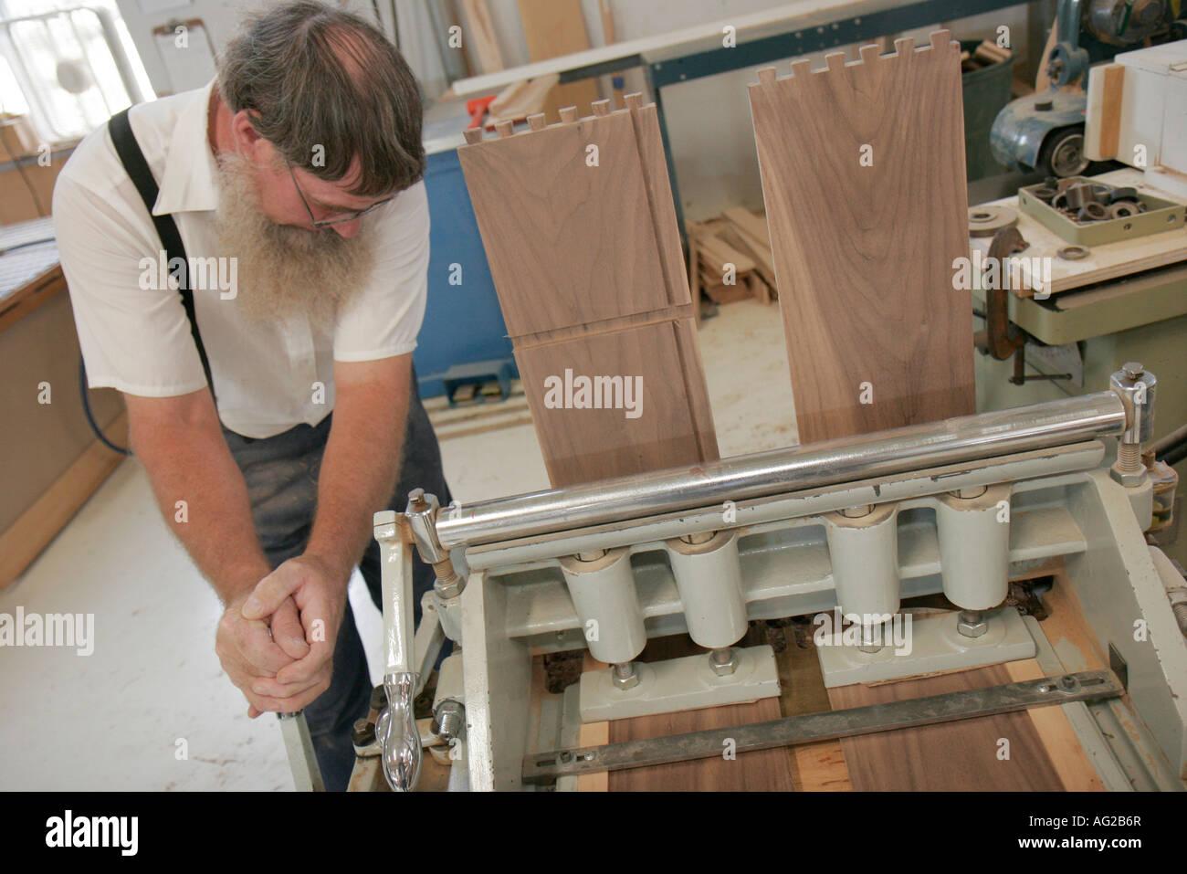 Indiana Shipshewana Topeka Lambright Woodworking Custom Built Furniture  Amish Furniture Maker
