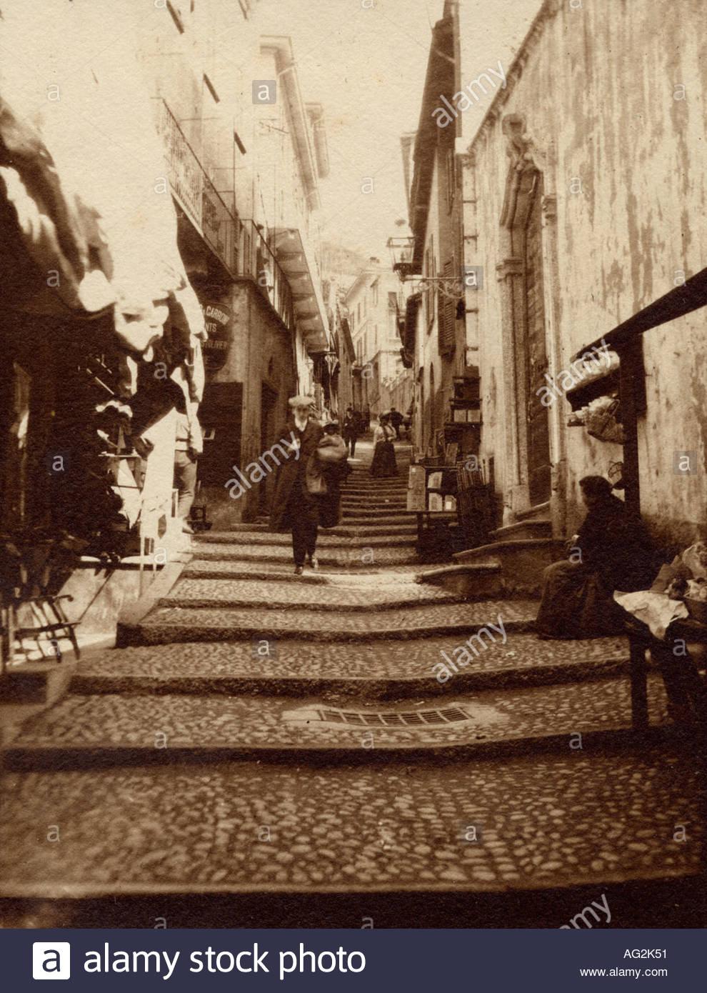 firenza milan italy circa 1920 1921 1922 1923 1924 1925 1926 - Stock Image