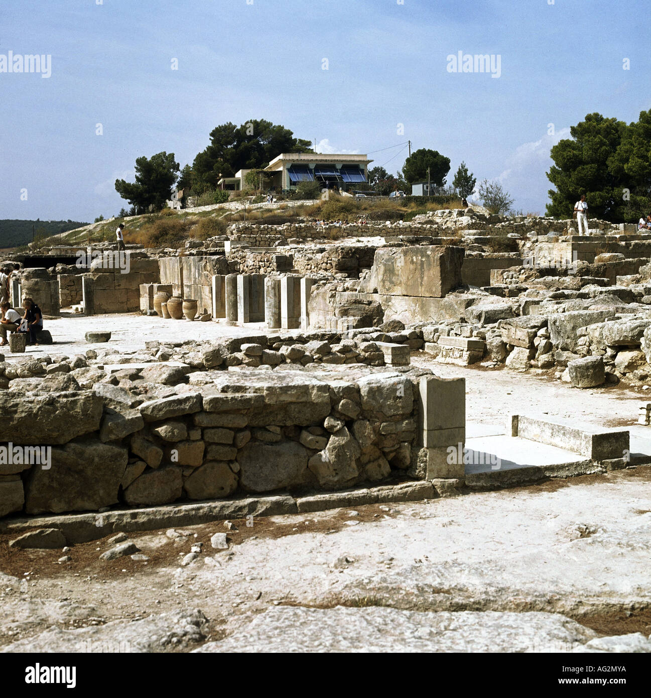 Travel Geography: Phaistos Crete Stock Photos & Phaistos Crete Stock Images