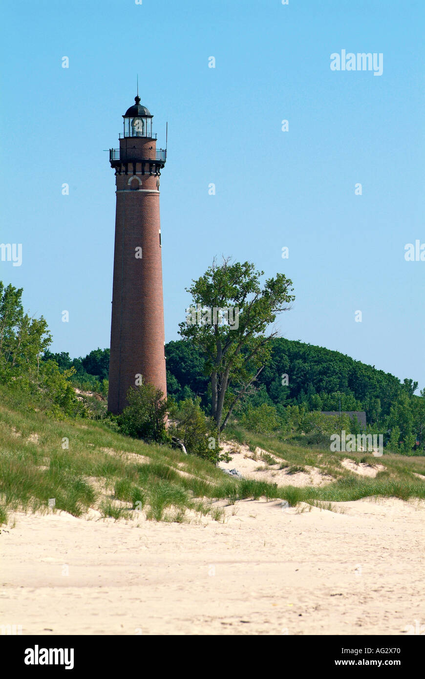 Little Sable Light house at Silver Lake State Park at Sleeping Bear