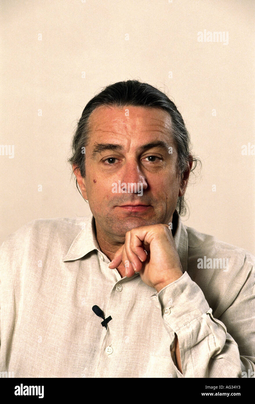 Niro, Robert de, * 17.8.1943, American actor, portrait, 1990s, 90s, , Additional-Rights-Clearances-NA - Stock Image