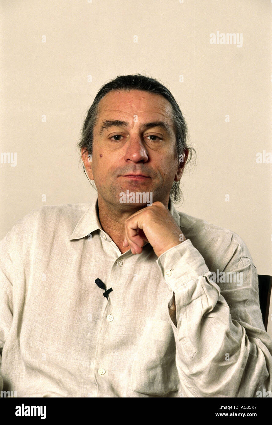 Niro, Robert de, * 17.8.1943, American actor, portrait, 1990s, 90s, Additional-Rights-Clearances-NA - Stock Image