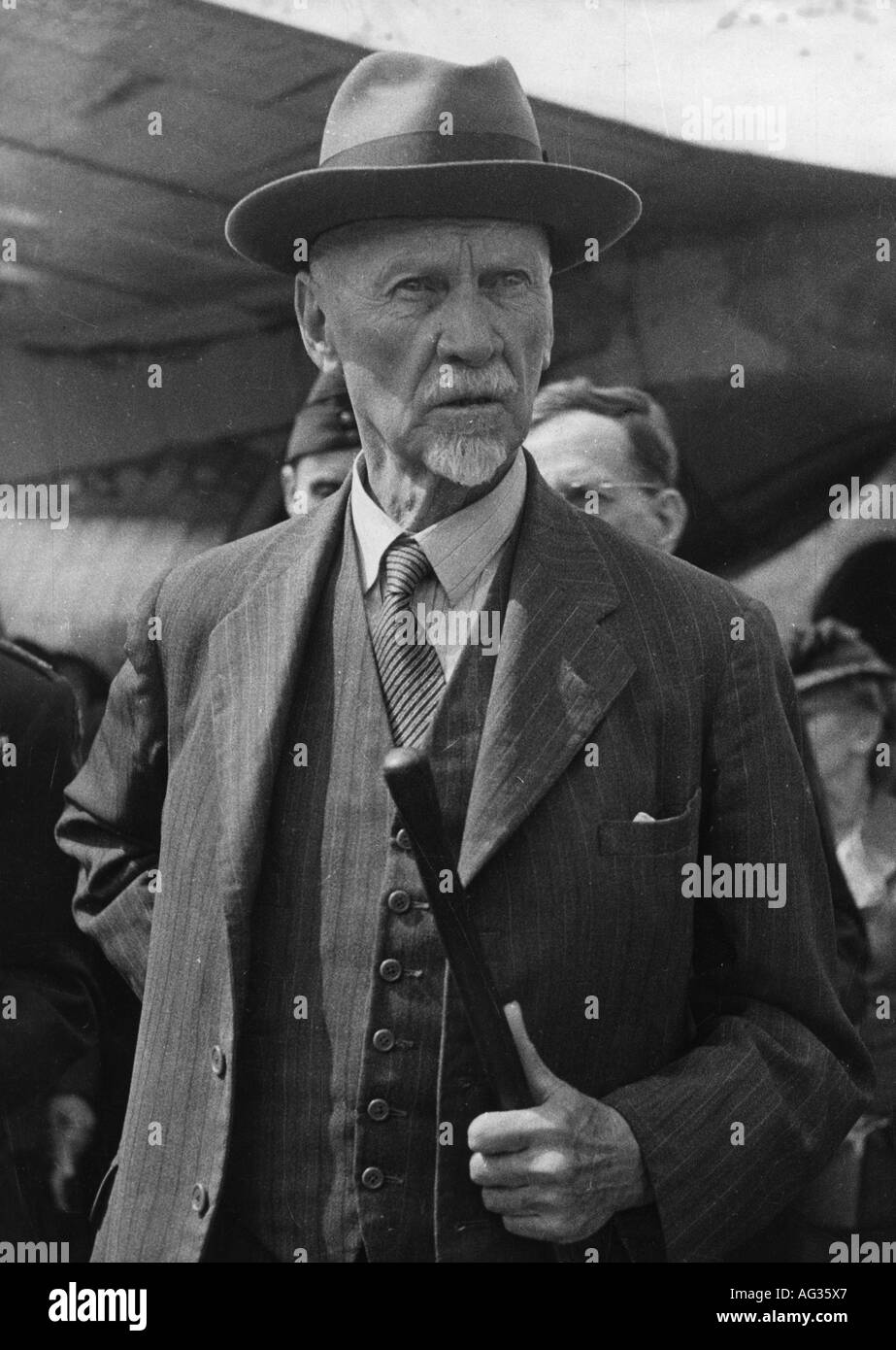 Smuts, Jan Christian, 24.5.1870 - 11.9.1950, South African politician, Prime Minister 3.9.1919 - 30.6.1924 and 5.9.1939 - 4.6.1948, half length, 1940s, 40s, South Africa, politics, Second World War, apartheid, 20th century, , Additional-Rights-Clearances-NA - Stock Image