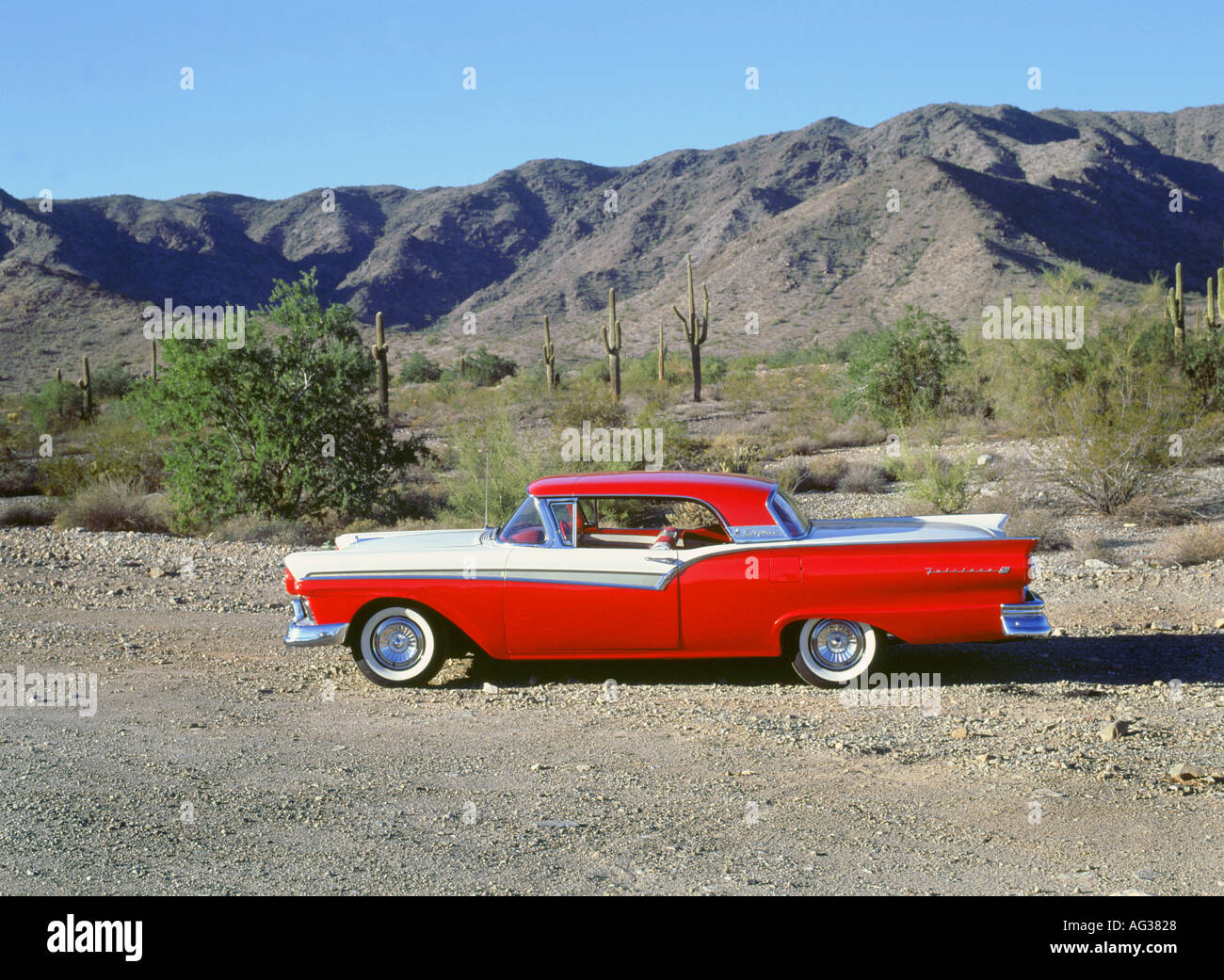 1957 Ford Skyliner Retractable - Stock Image