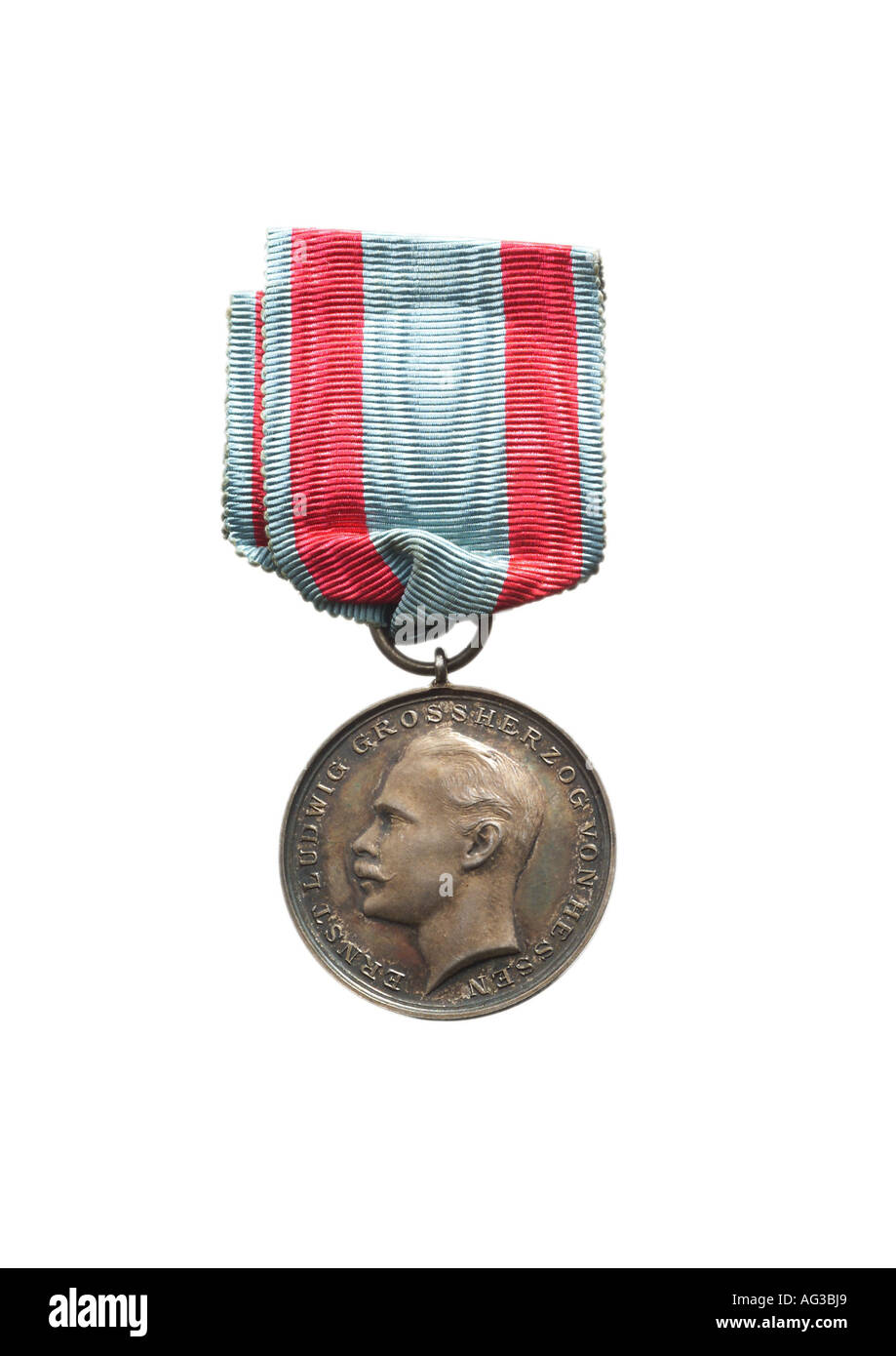 decorations, Germany, Hesse-Darmstadt, Medal for Loyal Services, 1894 - 1918, decoration, , Additional-Rights-Clearances - Stock Image