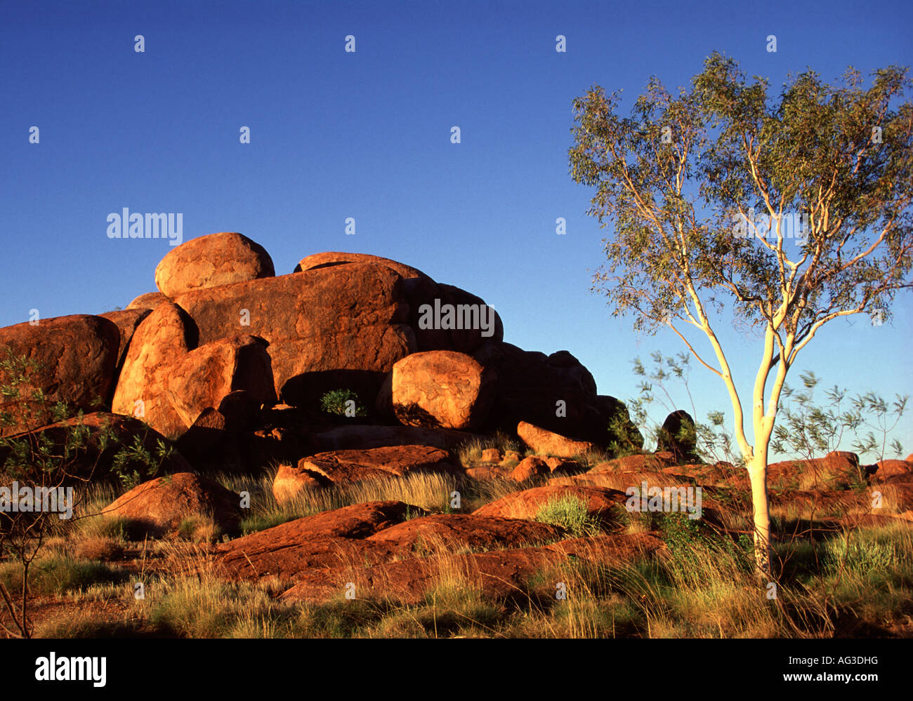 Devils Marbles Conservation Reserve, Northern Territory, Australia - Stock Image