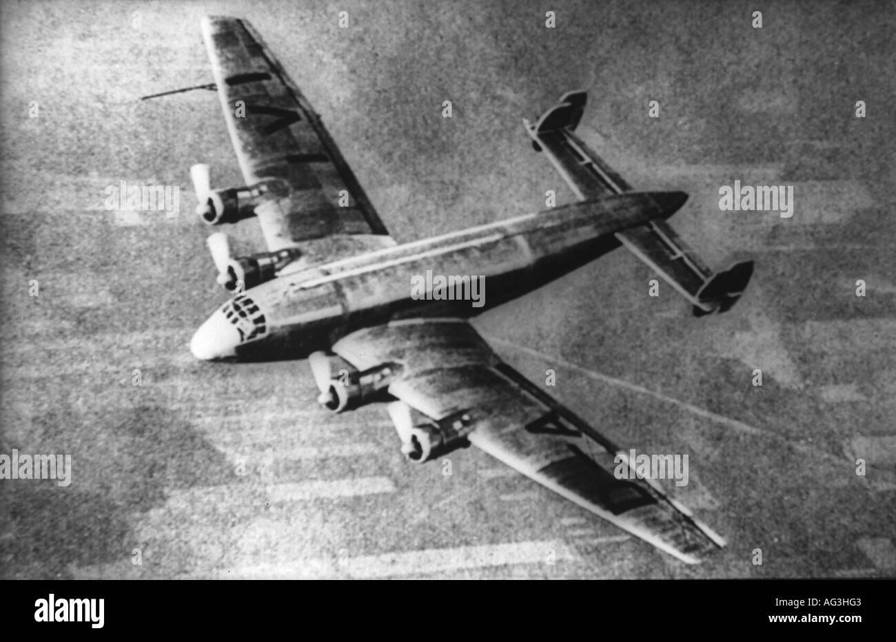 aviation, aircraft, airliners, Junkers JU-90, airliner, airplane, aircraft, Germany, JU 90, 1938, historic, historical, 20th century, 1930s, Additional-Rights-Clearances-NA - Stock Image