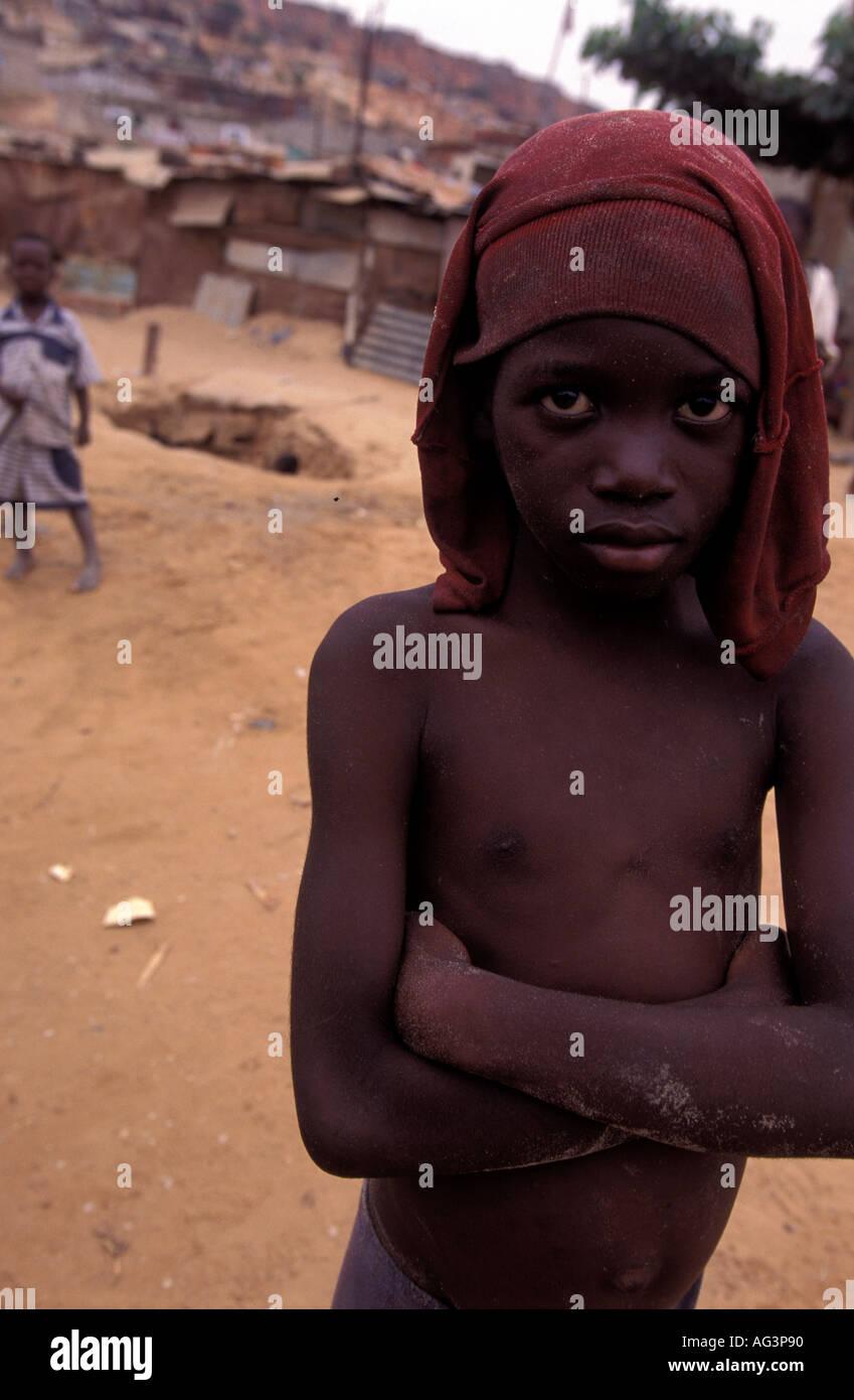 Angola Luanda - Stock Image