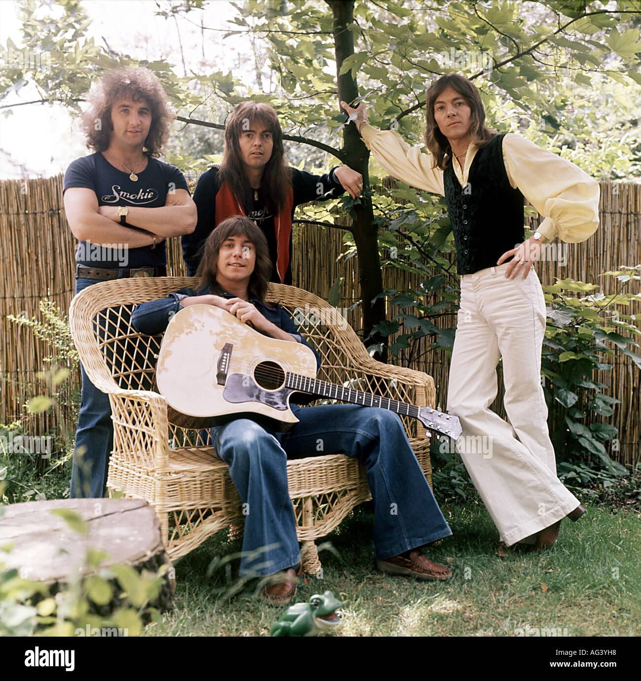 SMOKIE UK Pop Group About 1976 Stock Photo: 8049495