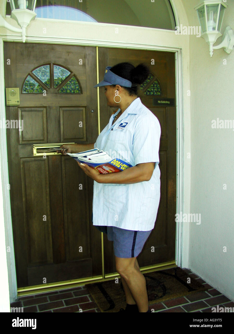 Female Postal Worker High Resolution Stock Photography And Images