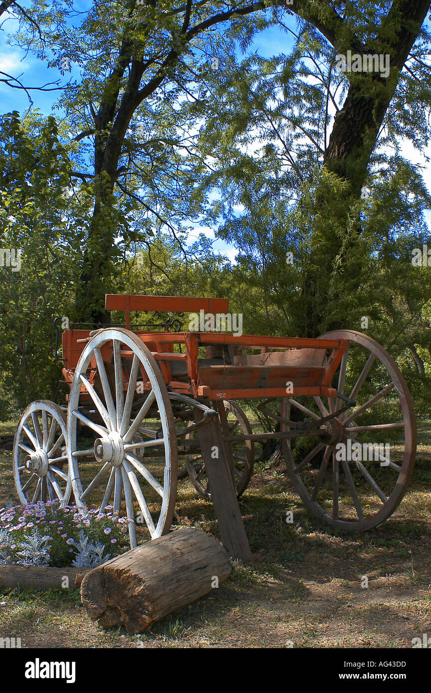 Old Cart Decorating Garden In Stock Photos & Old Cart Decorating ...