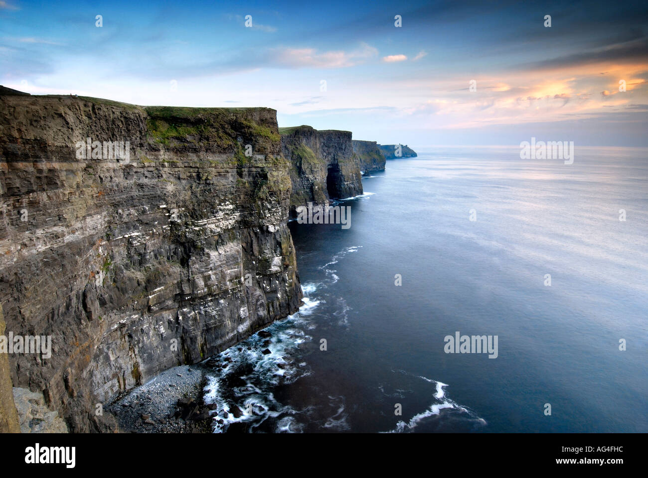 Cliffs of Moher, Co. Clare - Stock Image