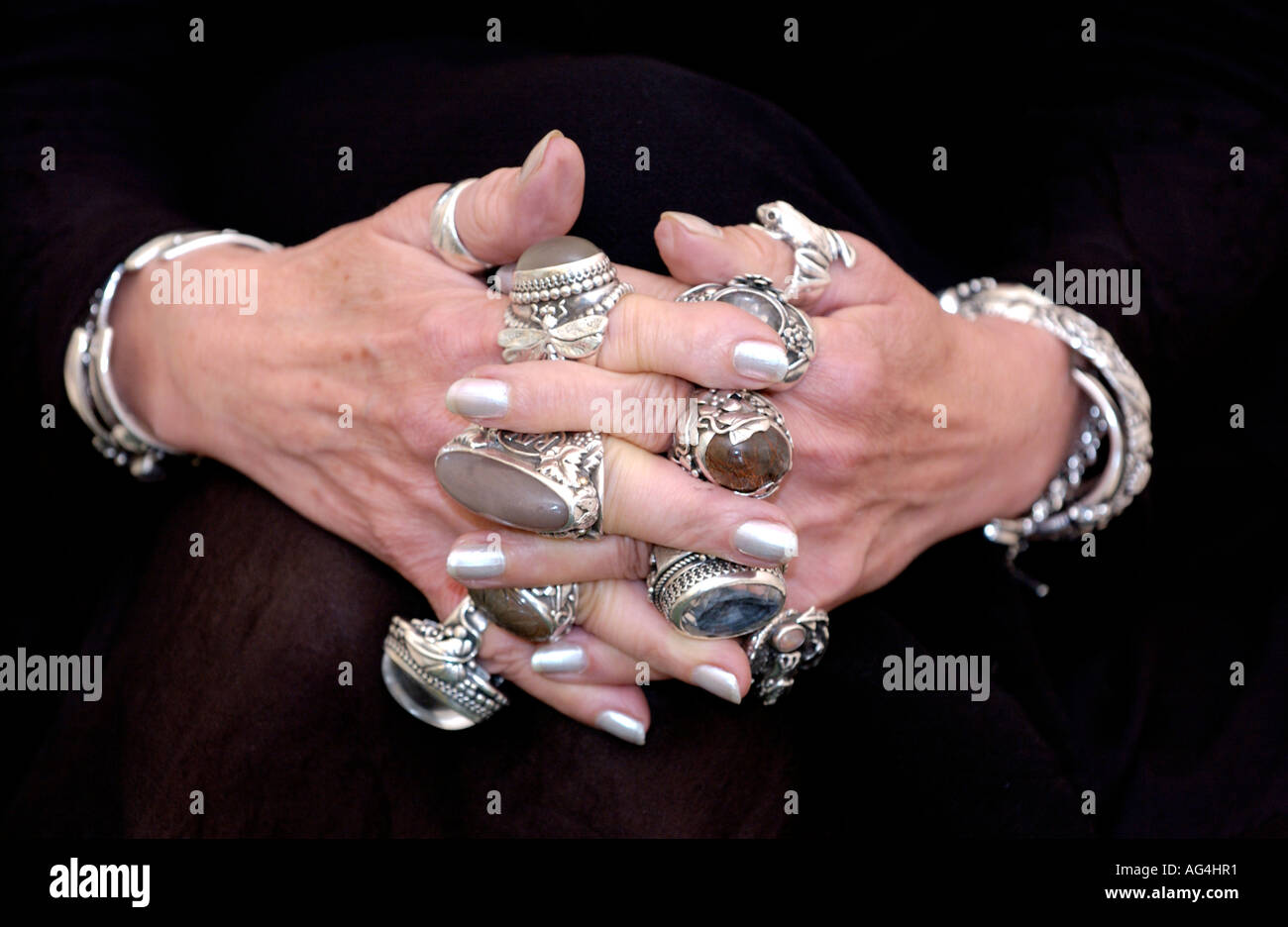 large silver rings images