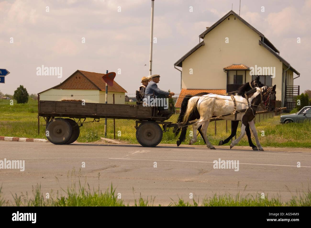 Farmers marker north of Novi sad in Serbia. - Stock Image
