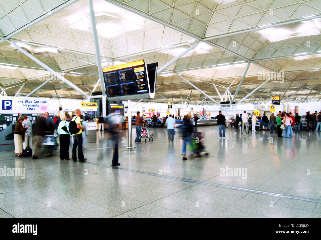Stansted Airport, England - Stock Image