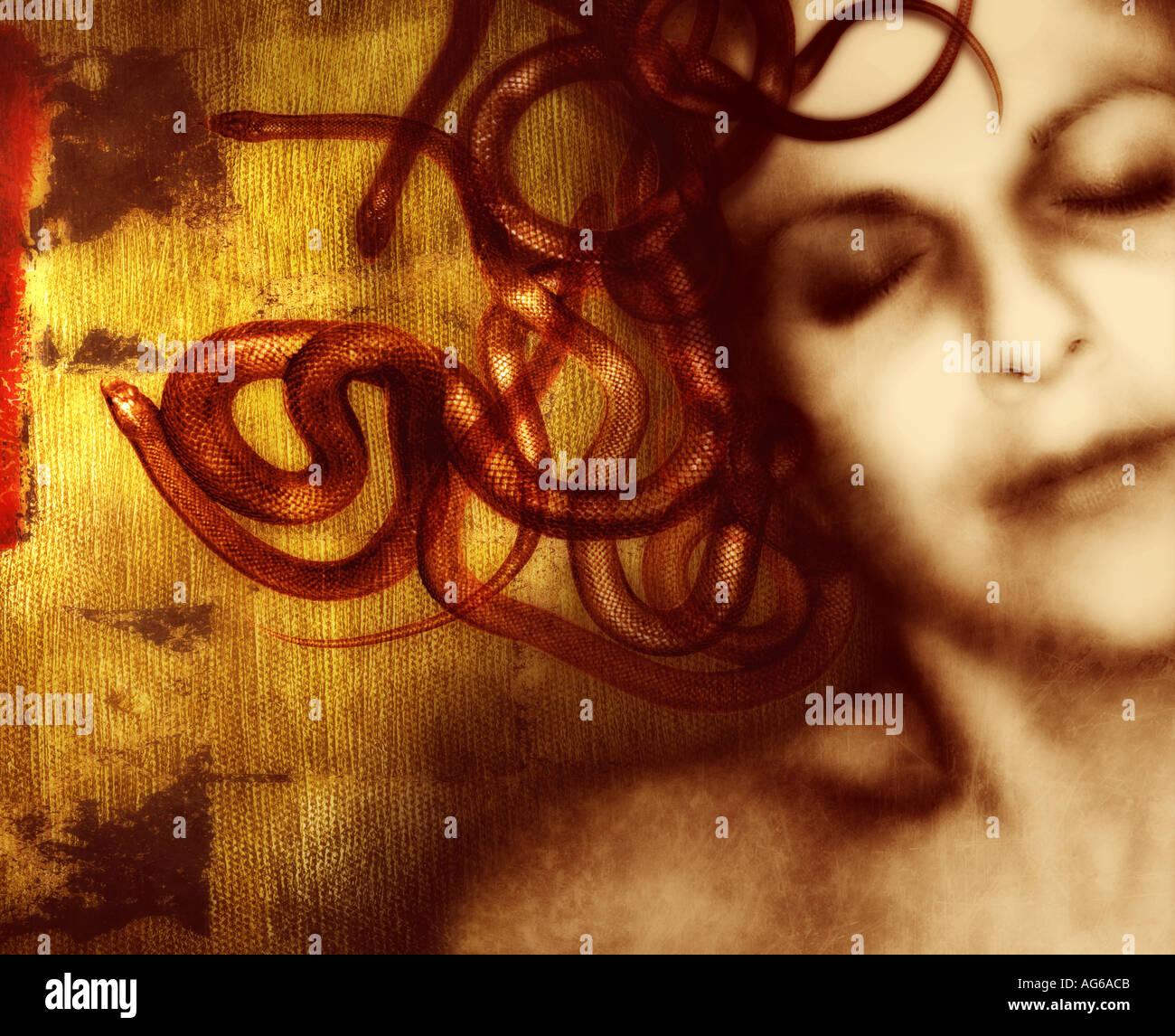 Medusa - Stock Image