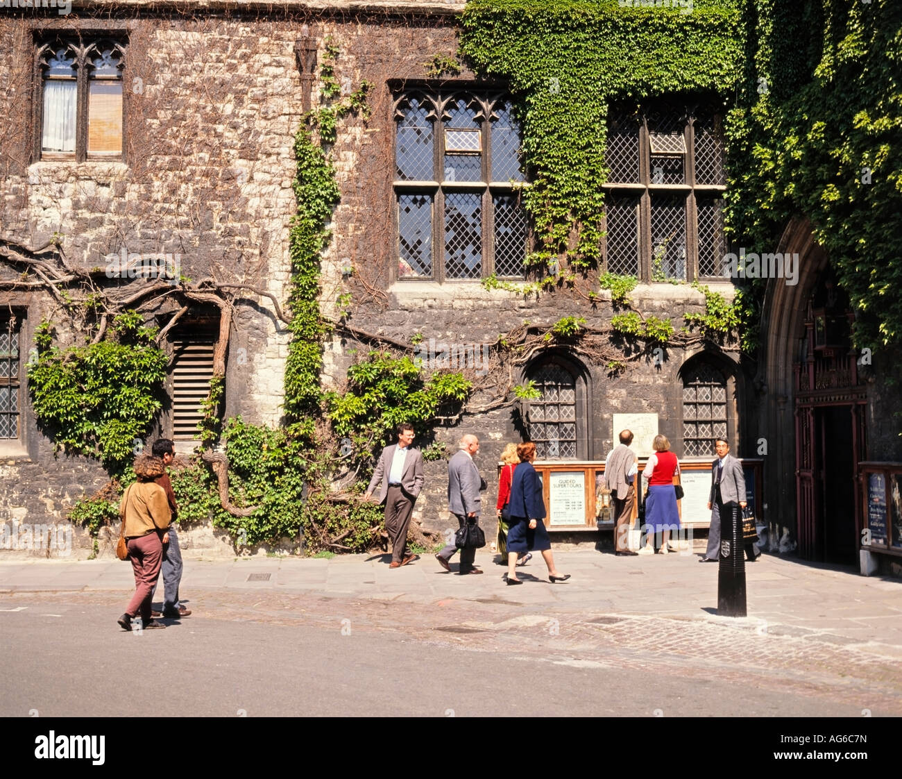 Dean's Yard Westminster Abbey London Great Britain - Stock Image
