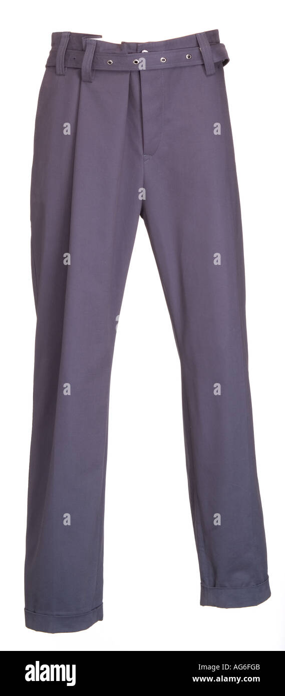 Man's trousers - Stock Image