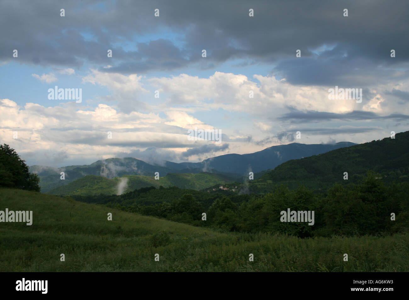 Bulgaria Mountains the Stara Planina - Stock Image