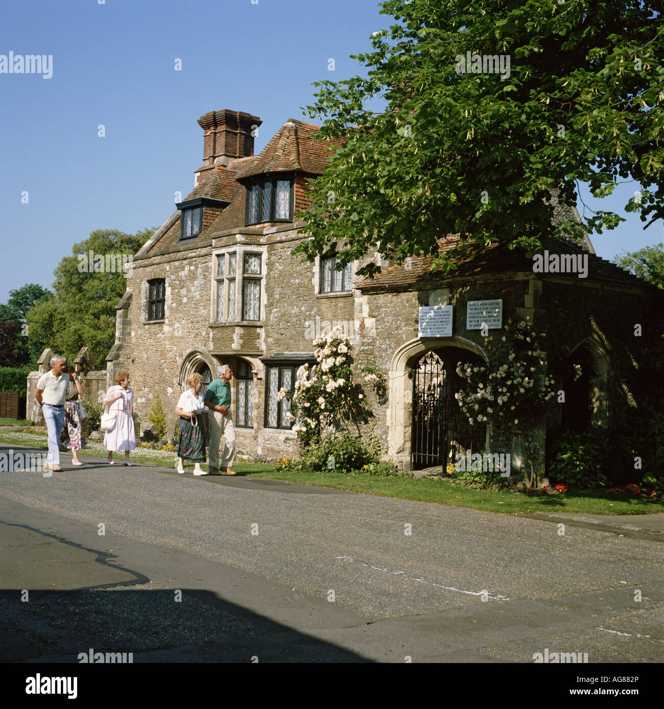 Winchelsea Old Armoury and Pump House East Sussex England GB - Stock Image