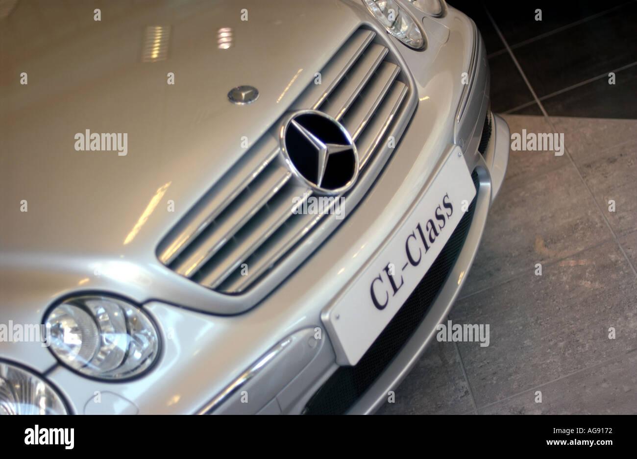 Mercedes Benz Salesroom - Stock Image