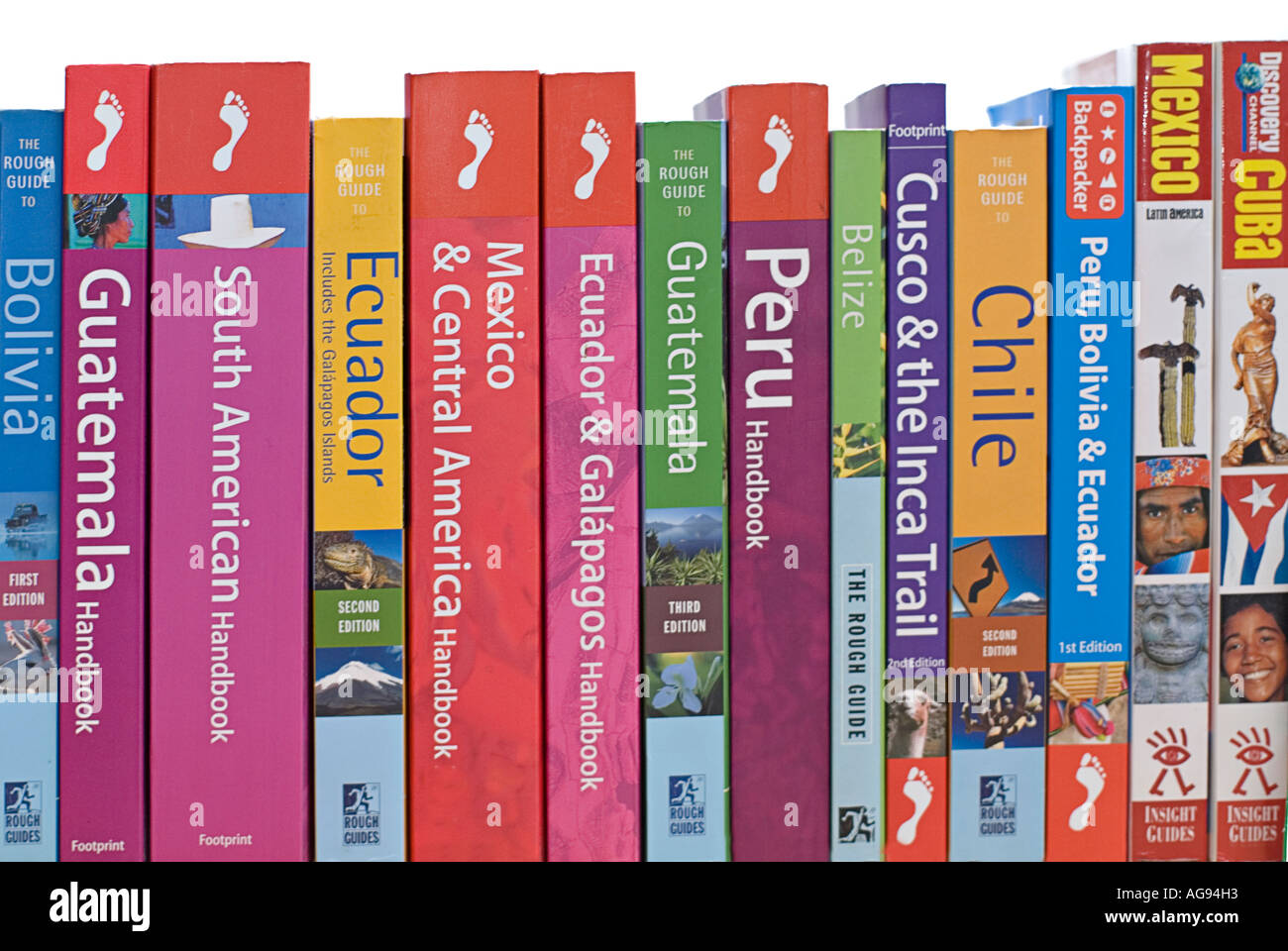 Rough guide travel guide books stock photo: 53436052 alamy.
