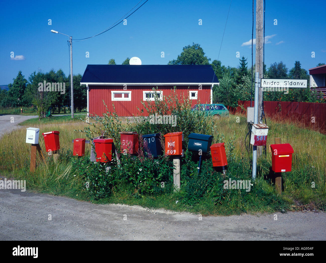 GALLIVARE NORRBOTTENS SWEDEN Europe Sweden - Stock Image